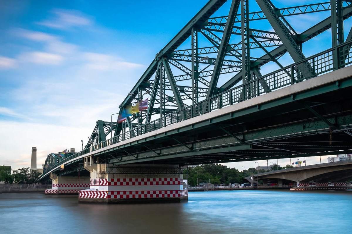 Memorial Bridge Saphan Phut Bangkok Thailand