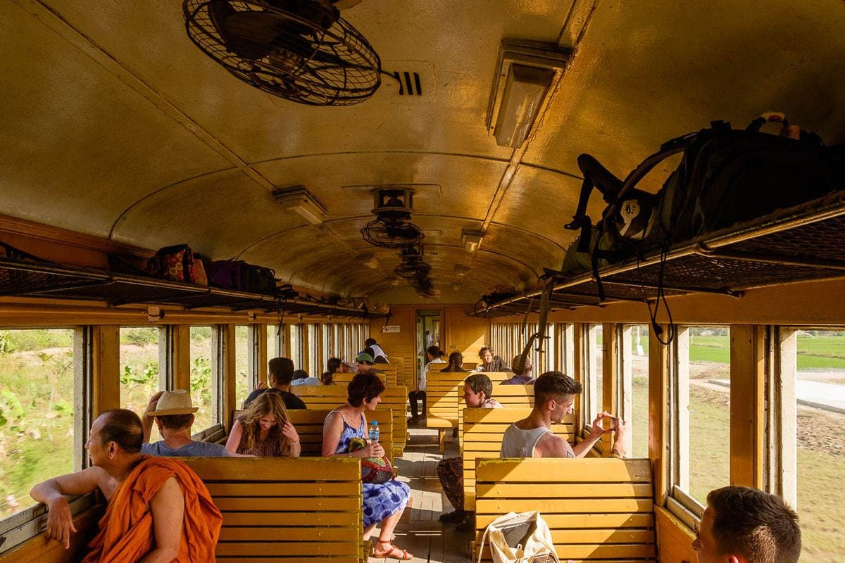 Travel photos train Bangkok Kanchanaburi Thailand | Life on the Kanchanaburi - Bangkok train, Thailand. | Eugenio Corso Photography