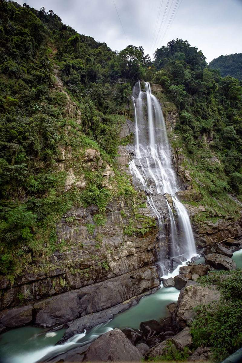 Wulai Falls. Wulai District, New Taipei City, Taiwan.