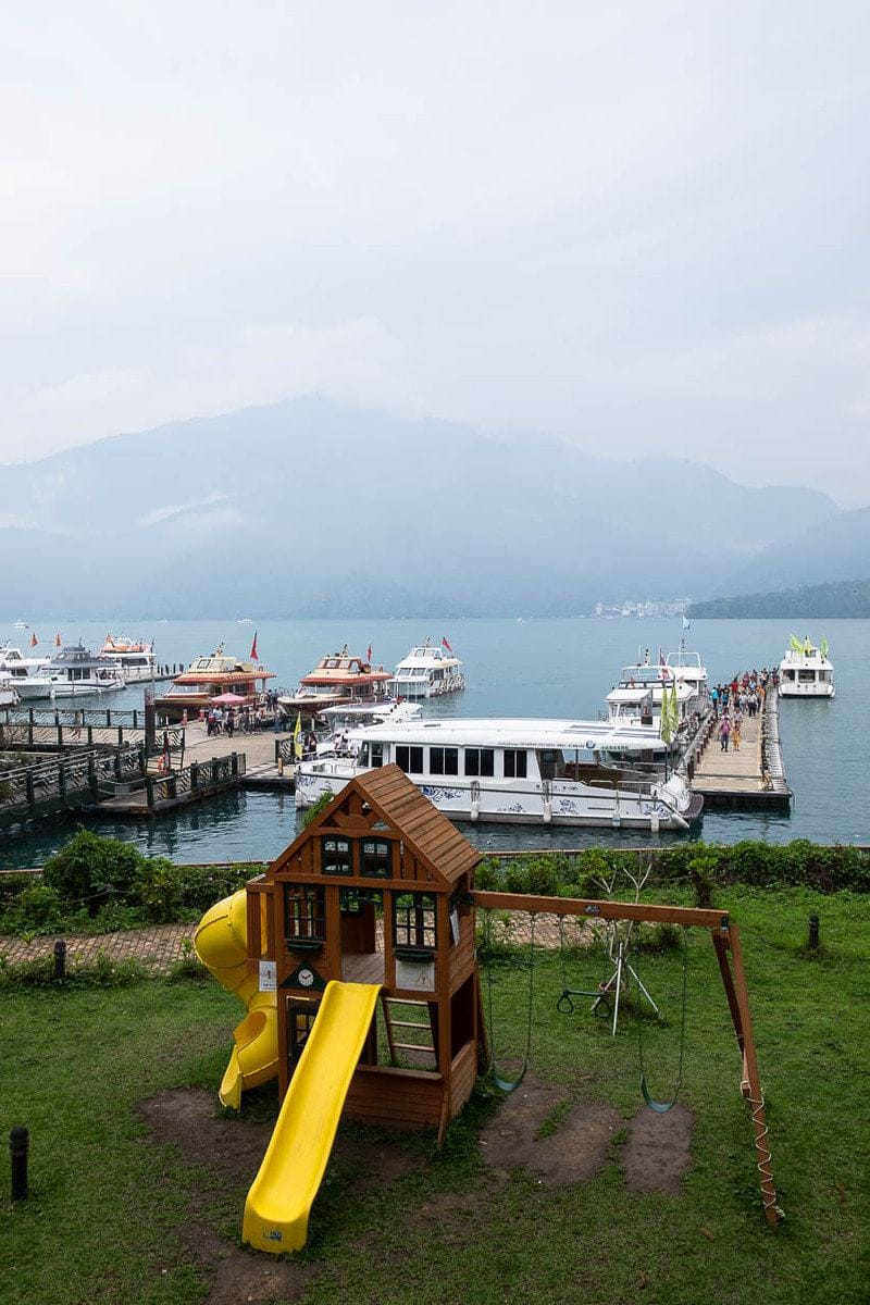 Shui She Wharf. Sun Moon Lake, Taiwan.
