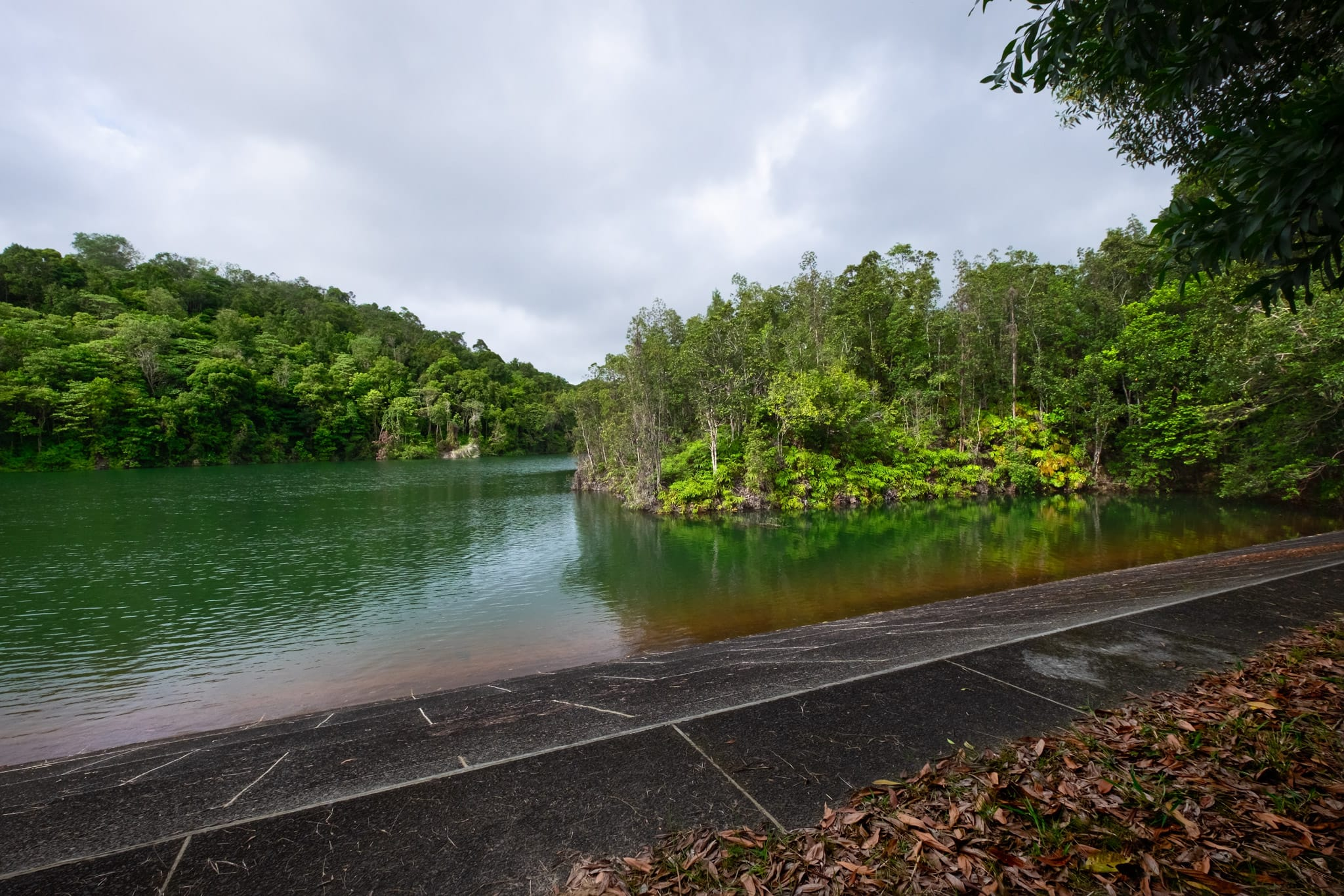 Reservoir at Tasek Lama Recreational Park. Bandar Seri Begawan, Brunei.